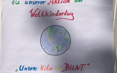 Weltkindertag 2020-Bordsteinkanten werden zu Bilderrahmen